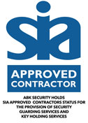 sia approved contractor abk